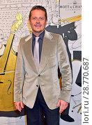 Купить «Moet & Chandon Grand Scores at Umspannwerk. Featuring: Roman Knizka Where: Berlin, Germany When: 02 Feb 2017 Credit: AEDT/WENN.com», фото № 28770687, снято 2 февраля 2017 г. (c) age Fotostock / Фотобанк Лори