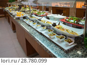 Concept of food All-inclusive buffet-style in Turkey. Стоковое фото, фотограф Володина Ольга / Фотобанк Лори