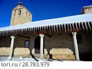 Купить «Church of Purisima Concepcion in Bustarviejo, Madrid, Spain.», фото № 28783979, снято 8 января 2018 г. (c) age Fotostock / Фотобанк Лори