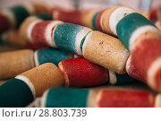 Купить «Color abstract background», фото № 28803739, снято 30 марта 2018 г. (c) Иван Карпов / Фотобанк Лори