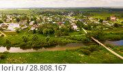 Купить «View on villages of Vladimir region», фото № 28808167, снято 13 июня 2018 г. (c) Яков Филимонов / Фотобанк Лори