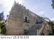 Купить «El Pinet is an ancient villa in Alfafara Valencian community Spain.», фото № 28818635, снято 19 мая 2018 г. (c) age Fotostock / Фотобанк Лори