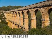 Купить «Pont de les Ferreres, Tarragona, Spain», фото № 28820815, снято 31 января 2018 г. (c) Яков Филимонов / Фотобанк Лори