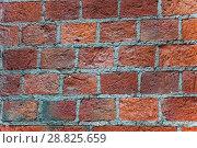 Текстура старой кирпичной стены. Стоковое фото, фотограф Алёшина Оксана / Фотобанк Лори