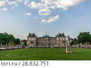 Купить «Luxembourg park in Paris», фото № 28832751, снято 19 июля 2013 г. (c) Сурикова Ирина / Фотобанк Лори