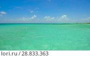 Купить «lagoon at tropical beach in french polynesia», видеоролик № 28833363, снято 3 июля 2018 г. (c) Syda Productions / Фотобанк Лори