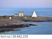 Купить «Kobba Klintar Island in evening. Finland», фото № 28842235, снято 9 июля 2018 г. (c) Валерия Попова / Фотобанк Лори