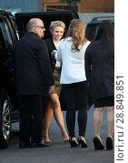 Купить «NBC/Universal TV Emmy Kick Off Luncheon - Outside Arrivals Featuring: Kristen Bell Where: Los Angeles, California, United States When: 06 Mar 2017 Credit: WENN.com», фото № 28849851, снято 6 марта 2017 г. (c) age Fotostock / Фотобанк Лори