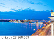 Санкт-Петербург. Литейный мост (2018 год). Стоковое фото, фотограф Литвяк Игорь / Фотобанк Лори