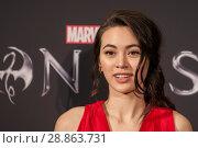 Купить «Marvel's 'Iron Fist' New York Screening at AMC Empire 25 Times Square - Red Carpet Arrivals Featuring: Jessica Henwick Where: New York, New York, United...», фото № 28863731, снято 16 марта 2017 г. (c) age Fotostock / Фотобанк Лори