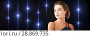 Купить «gorgeous woman with diamond earrings», фото № 28869735, снято 17 марта 2013 г. (c) Syda Productions / Фотобанк Лори