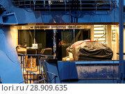 Купить «Multi-million pound super-yacht Lady M has arrived in Greenock. The stunning 65-metre vessel has berthed at James Watt Dock Marina. Lady M is understood...», фото № 28909635, снято 7 апреля 2017 г. (c) age Fotostock / Фотобанк Лори