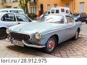 Volvo 1800S (2014 год). Редакционное фото, фотограф Art Konovalov / Фотобанк Лори