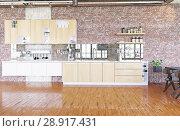 Купить «modern loft.», фото № 28917431, снято 15 августа 2018 г. (c) Виктор Застольский / Фотобанк Лори