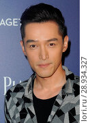 Hu Ge at arrivals for Piaget Launch Party for The Maison Timepiece, The Duggal Greenhouse, Brooklyn, NY July 14, 2016. Photo By: Kristin Callahan/Everett Collection. Редакционное фото, фотограф Kristin Callahan/Everett Collection / age Fotostock / Фотобанк Лори