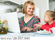 Купить «freelancer working at notebook», фото № 28937943, снято 14 августа 2018 г. (c) Яков Филимонов / Фотобанк Лори