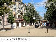 Купить «Рязань. Улица Почтовая.», фото № 28938863, снято 16 июня 2018 г. (c) УНА / Фотобанк Лори