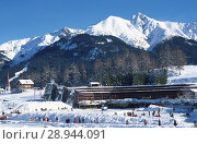 Seefeld, Austria, Olympia Sports and Congress Center. Редакционное фото, агентство Caro Photoagency / Фотобанк Лори