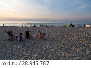 Купить «Poland, Pomerania - Krynica Morska on the Fresh Spit (Baltic Sea)», фото № 28945787, снято 26 августа 2015 г. (c) Caro Photoagency / Фотобанк Лори