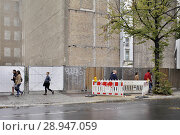 Купить «Berlin, Germany, demolition of the Polish Embassy Unter den Linden in Berlin-Mitte», фото № 28947059, снято 1 октября 2016 г. (c) Caro Photoagency / Фотобанк Лори