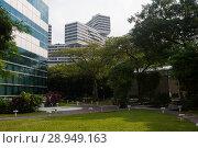 Купить «Singapore, Republic of Singapore, The Interlace», фото № 28949163, снято 14 декабря 2017 г. (c) Caro Photoagency / Фотобанк Лори