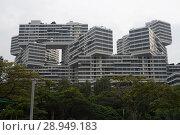 Купить «Singapore, Republic of Singapore, The Interlace», фото № 28949183, снято 14 декабря 2017 г. (c) Caro Photoagency / Фотобанк Лори