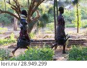 Купить «Kakuma, Kenya - Gardening in Kakuma refugee camp, managed and funded by GIZ / UNHCR.», фото № 28949299, снято 31 августа 2015 г. (c) Caro Photoagency / Фотобанк Лори