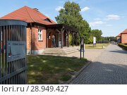Купить «Poland, Pomerania, Concentration Camp Memorial Museum Stutthof», фото № 28949427, снято 26 августа 2015 г. (c) Caro Photoagency / Фотобанк Лори