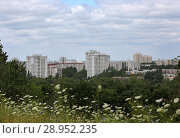 Купить «Berlin, Germany, prefabricated housing estate in Berlin-Marzahn», фото № 28952235, снято 13 июля 2017 г. (c) Caro Photoagency / Фотобанк Лори