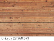 Купить «Wood plank brown texture background», фото № 28960579, снято 4 августа 2018 г. (c) Александр Лычагин / Фотобанк Лори