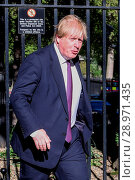 Купить «Minister attend the weekly Cabinet meeting at 10 Downing Street Featuring: Boris Johnson MP Where: London, United Kingdom When: 25 Apr 2017 Credit: WENN.com», фото № 28971435, снято 25 апреля 2017 г. (c) age Fotostock / Фотобанк Лори