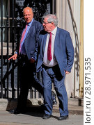 Купить «Minister attend the weekly Cabinet meeting at 10 Downing Street Featuring: Chris Grayling MP, Patrick McLoughlin MP Where: London, United Kingdom When: 25 Apr 2017 Credit: WENN.com», фото № 28971535, снято 25 апреля 2017 г. (c) age Fotostock / Фотобанк Лори