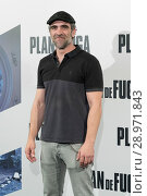 Купить «Luis Tosar attending a photocall for 'Plan de Fuga' at NH Collection Madrid Suecia Hotel in Madrid, Spain. Featuring: Luis Tosar Where: Madrid, Community...», фото № 28971843, снято 25 апреля 2017 г. (c) age Fotostock / Фотобанк Лори