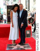Купить «Wolfgang Puck Honored With Star On The Hollywood Walk Of Fame Featuring: Gelila Assefa, Wolfgang Puck Where: Hollywood, California, United States When: 26 Apr 2017 Credit: FayesVision/WENN.com», фото № 28977215, снято 26 апреля 2017 г. (c) age Fotostock / Фотобанк Лори