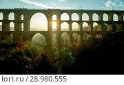 Купить «The Göltzsch Viaduct is the world's largest brick bridge, Vogtland, Saxony, Germany», фото № 28980555, снято 30 сентября 2017 г. (c) age Fotostock / Фотобанк Лори