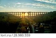 Купить «The Göltzsch Viaduct is the world's largest brick bridge, Vogtland, Saxony, Germany», фото № 28980559, снято 30 сентября 2017 г. (c) age Fotostock / Фотобанк Лори