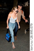 Купить «LeAnn Rimes with her husband Eddie Cibrian at Los Angeles International Airport (LAX) Featuring: LeAnn Rimes, Eddie Cibrian Where: Los Angeles, California...», фото № 28995079, снято 26 апреля 2017 г. (c) age Fotostock / Фотобанк Лори
