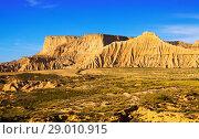 semi-desert of Navarra. Стоковое фото, фотограф Яков Филимонов / Фотобанк Лори
