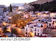 Купить «View of the Santa Cruz district of Alicante, Valencia, Spain», фото № 29034059, снято 23 декабря 2016 г. (c) age Fotostock / Фотобанк Лори