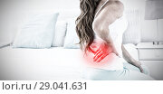 Купить «Composite image of highlighted pain», фото № 29041631, снято 10 июля 2020 г. (c) Wavebreak Media / Фотобанк Лори