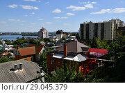 Купить «View of Voronezh from observation deck. Russia», фото № 29045379, снято 23 августа 2018 г. (c) Володина Ольга / Фотобанк Лори