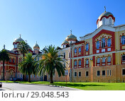 Купить «Novy Afonsky for male Monastery in Abkhazia», фото № 29048543, снято 3 июня 2018 г. (c) Володина Ольга / Фотобанк Лори