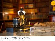 Купить «Санкт-Петербург, музей-квартира А.С. Пушкин. Кабинет», фото № 29057175, снято 12 августа 2018 г. (c) Марина Володько / Фотобанк Лори
