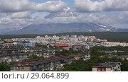 Купить «Петропавловск-Камчатский. Time lapse», видеоролик № 29064899, снято 11 сентября 2018 г. (c) А. А. Пирагис / Фотобанк Лори
