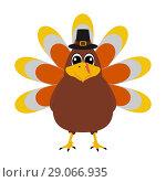 Купить «Turkey Pilgrimin on Thanksgiving Day», иллюстрация № 29066935 (c) Мастепанов Павел / Фотобанк Лори
