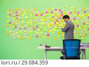 Купить «Businessman with many conflicting priorities», фото № 29084359, снято 24 мая 2018 г. (c) Elnur / Фотобанк Лори