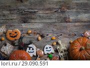 Купить «Background for Halloween», фото № 29090591, снято 14 сентября 2018 г. (c) Типляшина Евгения / Фотобанк Лори