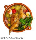 Купить «Soup with poultry», фото № 29093707, снято 21 июля 2019 г. (c) Яков Филимонов / Фотобанк Лори