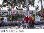 Купить «Market Place Taman Fatahillah in Jakarta, Indonesia», фото № 29107675, снято 6 августа 2018 г. (c) age Fotostock / Фотобанк Лори