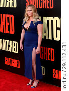 Купить «Film premiere of 'Snatched' held at the Regency Village Theatre - Arrivals Featuring: Amy Schumer Where: Los Angeles, California, United States When: 10 May 2017 Credit: Adriana M. Barraza/WENN.com», фото № 29112431, снято 10 мая 2017 г. (c) age Fotostock / Фотобанк Лори